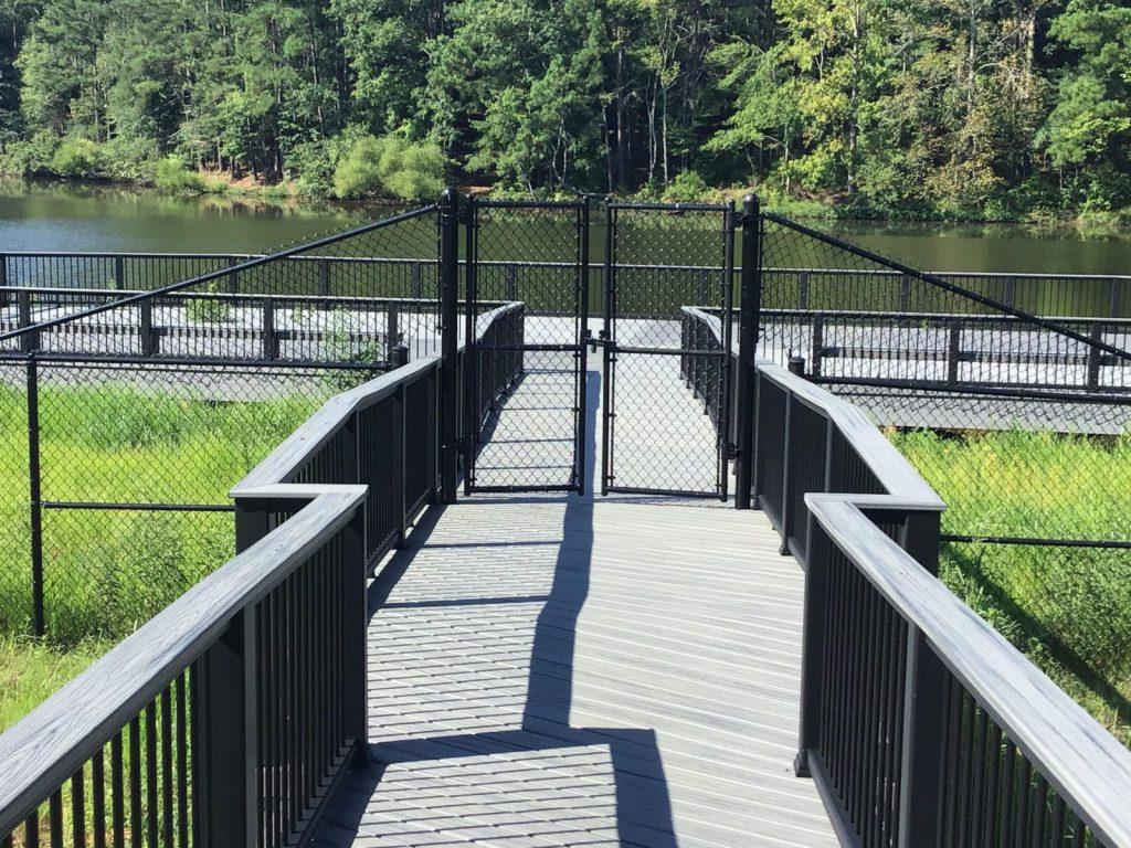 Custom Chain Link Walk Gate